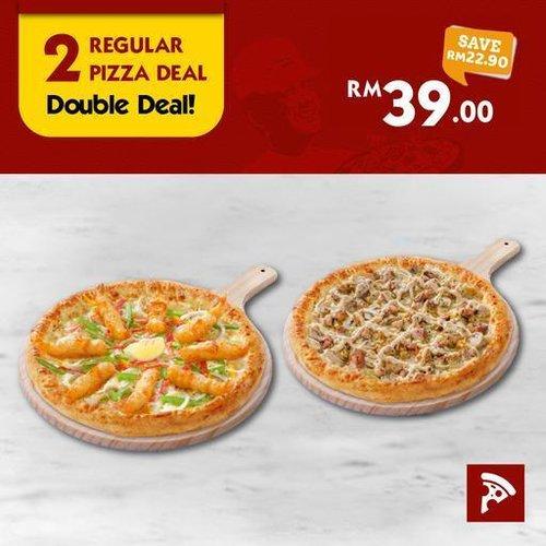 2 Regular Pizza Deal US Pizza