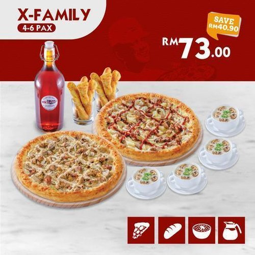 All New X-Family US Pizza