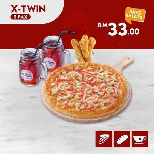 All New X-Twin US Pizza