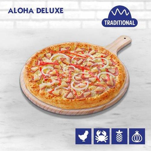 Aloha Deluxe Pizza