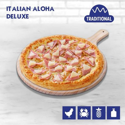 Italian Aloha Deluxe Pizza