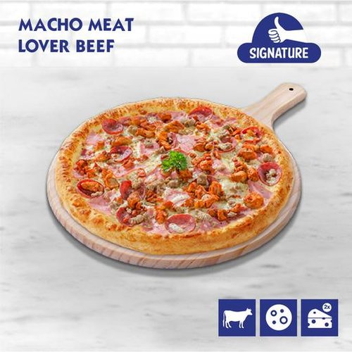 Macho Meat Lover Pizza (Beef)