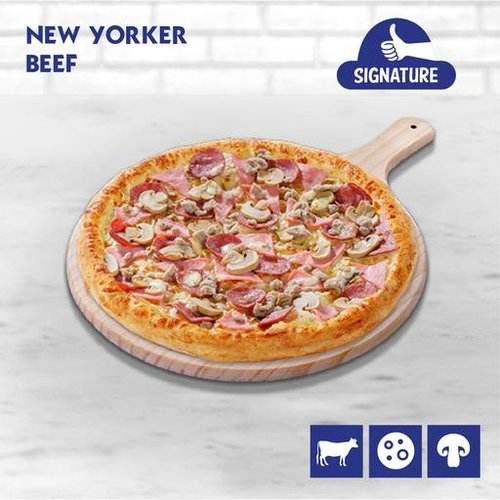 New Yorker Pizza (Beef)