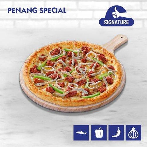 Penang Special Pizza (Ikan Bilis Pizza)