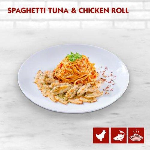 Spaghetting Tuna and Chicken Roll
