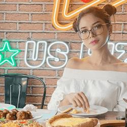US Pizza Malaysia Fans Fatin