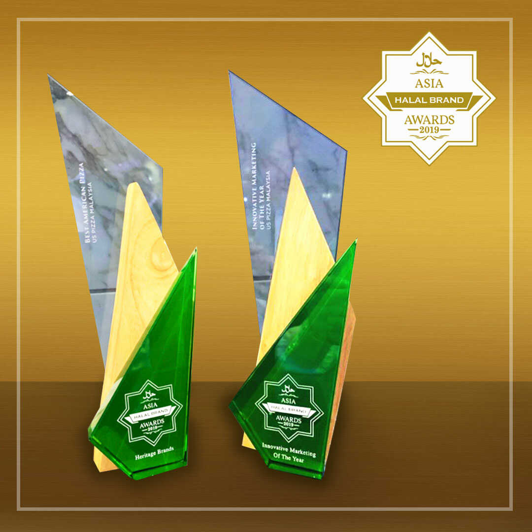 US Pizza Malaysia About Award Asia Halal Brands