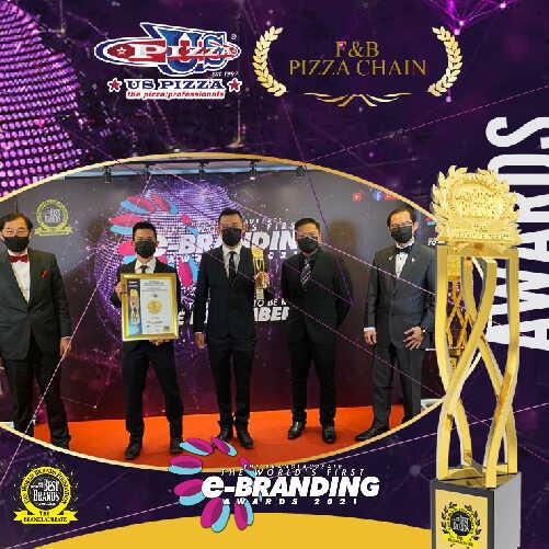 US Pizza Malaysia About Award World First eBranding