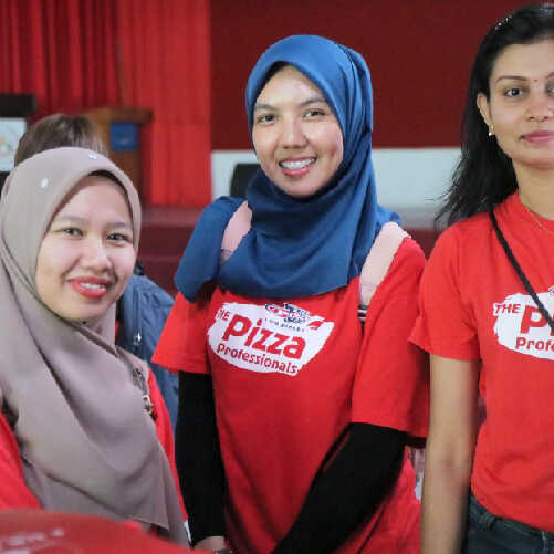 US Pizza Malaysia About Racial Diversity Workplace
