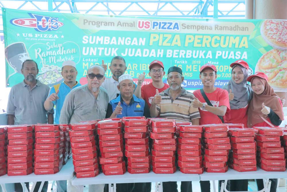 US Pizza Malaysia CSR Masjid Bayan Lepas Committee Member