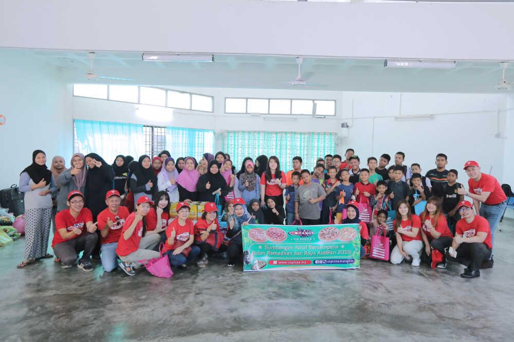 US Pizza Malaysia CSR Ramadhan 2019 Orphanage Home