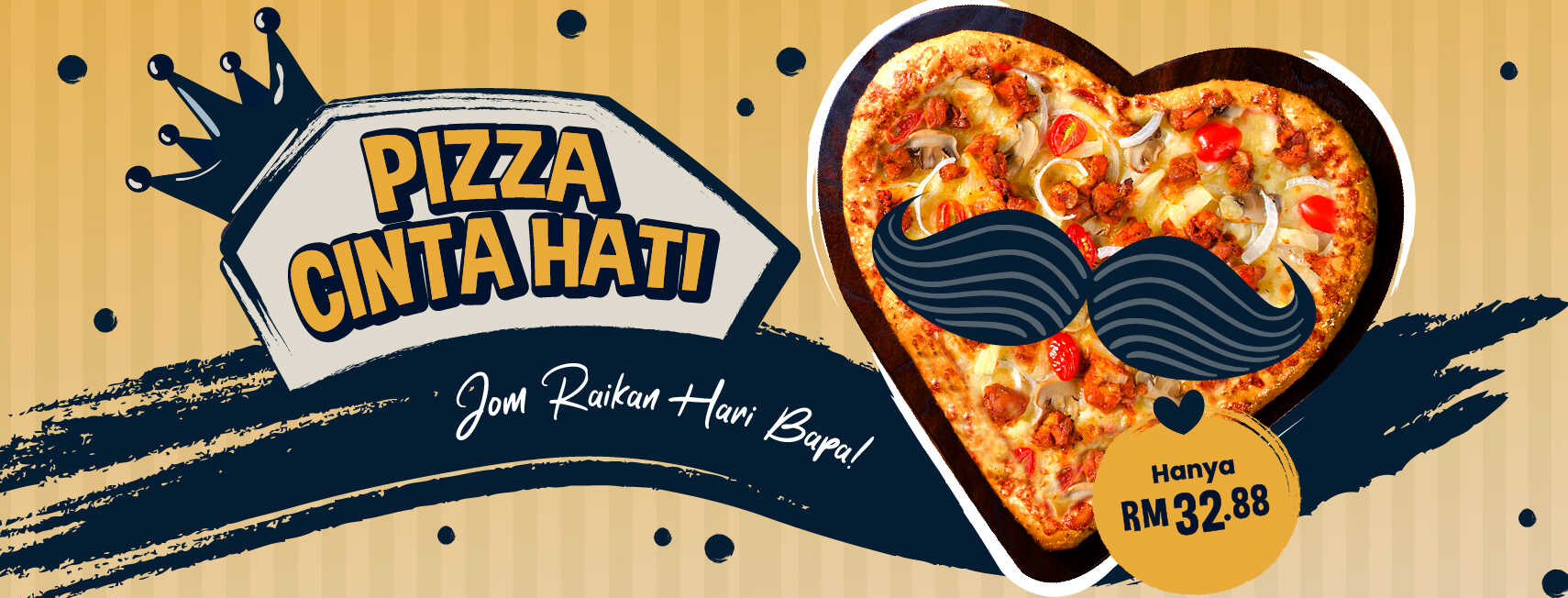 US Pizza Malaysia Promotion Fathers Day