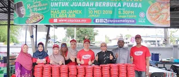 Us Pizza Malaysia CSR Masjid Jamek Telaga Air 2019