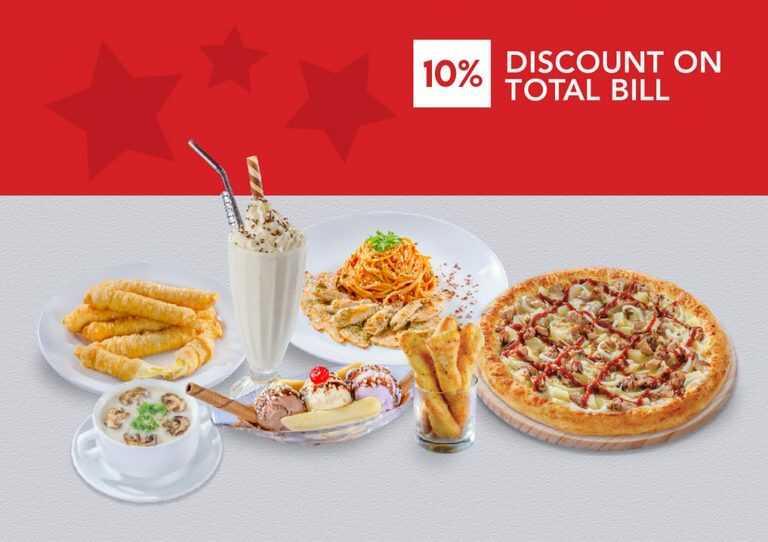 Us Pizza Malaysia Corporate 10% Discount