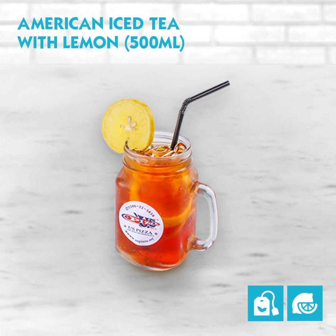 US Pizza Malaysia Menu American Iced Tea With Lemon 500ml