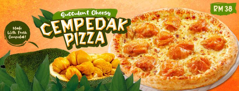 US Pizza Malaysia Promotion Cempedak Pizza