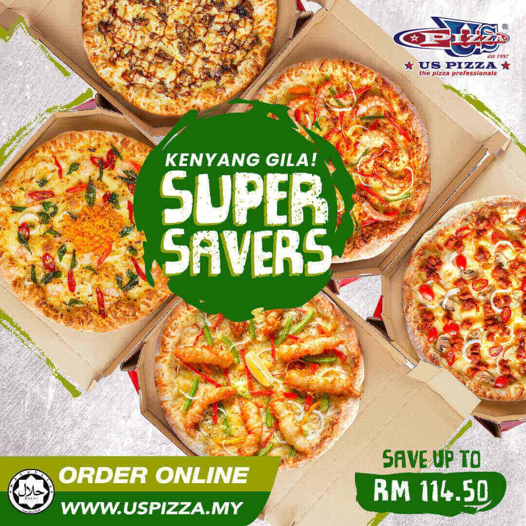 US Pizza Malaysia Promotion Super Savers