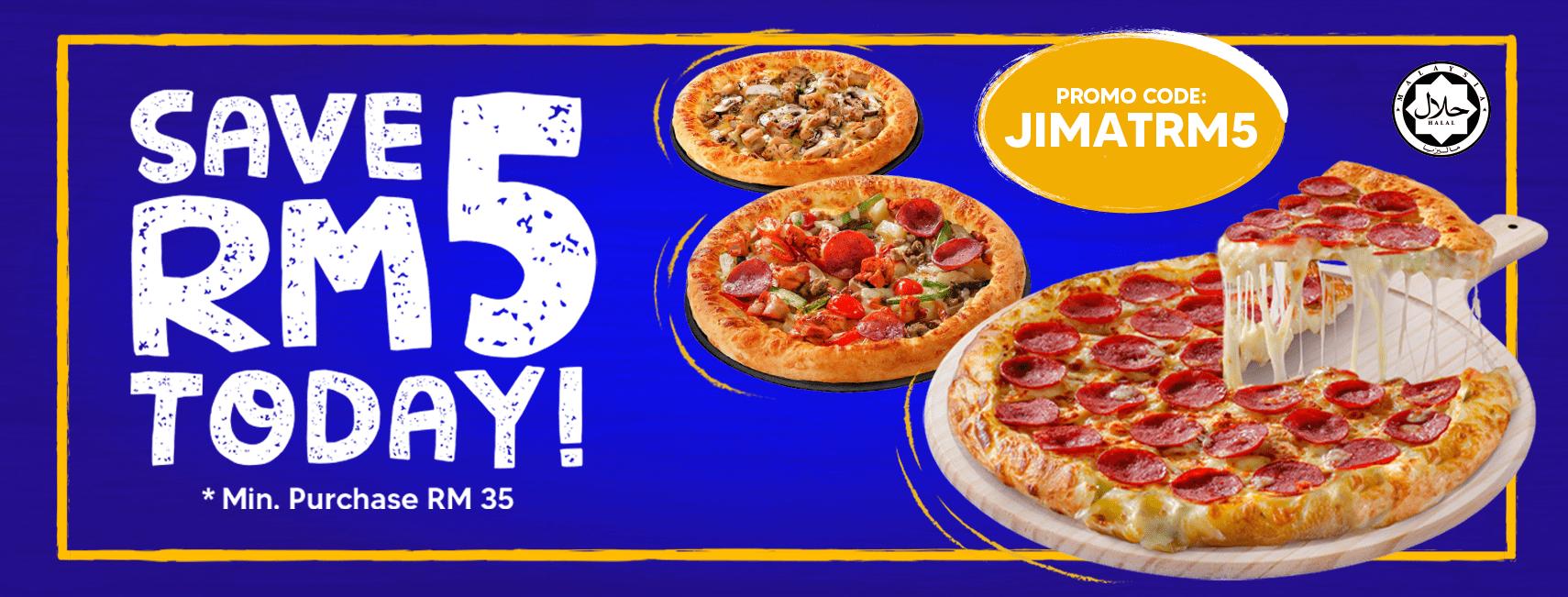US Pizza Malaysia Promotion JIMAT RM5